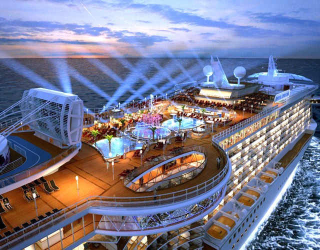 How to find a Cruiseship