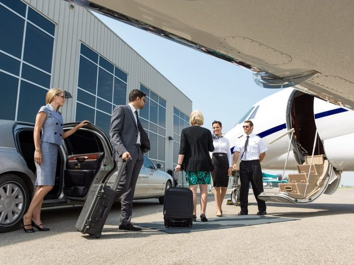 Why should you prefer a limo over an Uber for an airport trip?